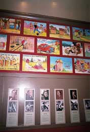 Outhouse Museum Wall of Fame and Postcards